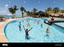 Woman Swimming Pool Hotel