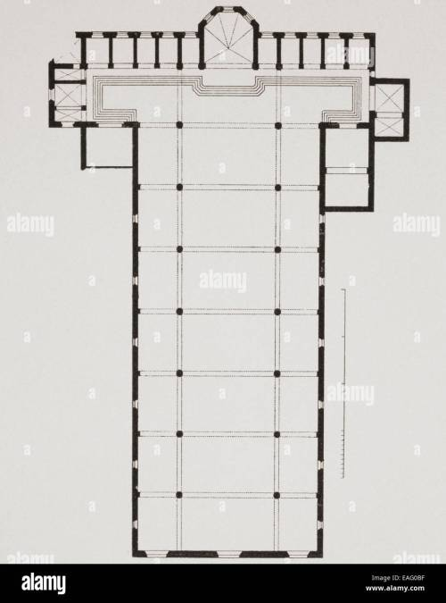 small resolution of ground plan of the basilica di santa croce basilica of the holy cross florence italy