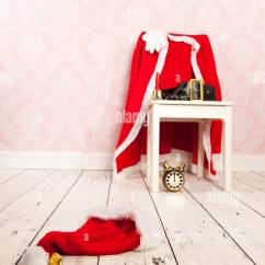 Bedroom Chair For Clothes Cover Hire Uxbridge Of Santa Claus With On The Stock Photo