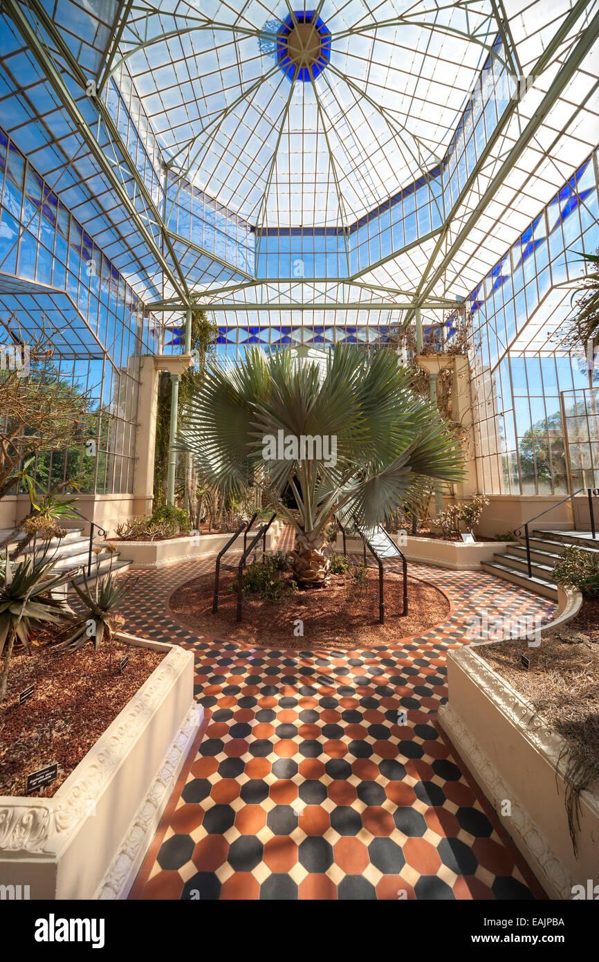 Adelaide Botanic Garden Palm House Old Victorian