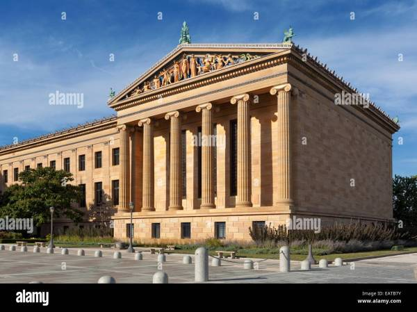 Classic Greek Architecture. Philadelphia Museum Of