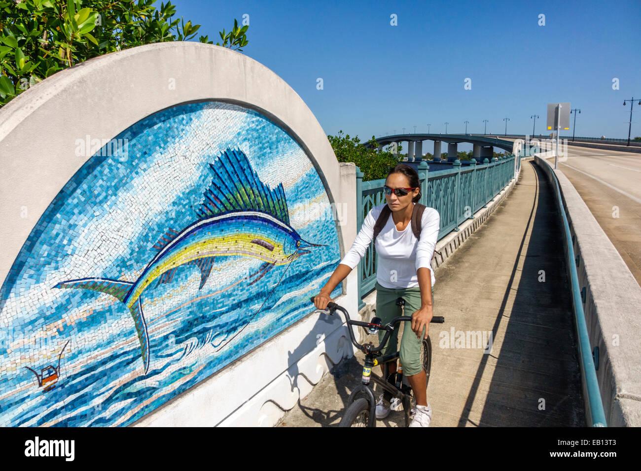 https www alamy com stock photo florida fl south daytona beach broadway bridge halifax river art mosaic 75627667 html