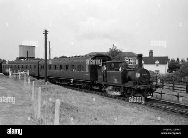 Original Steam Locomotive Class A1x Number 32646 Havant
