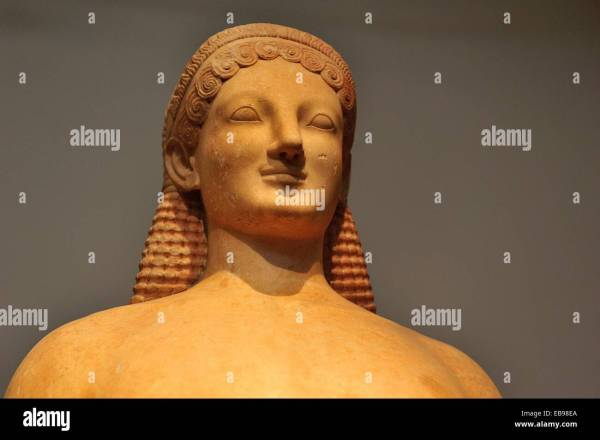 Kouros Greece Attic Florence Completed