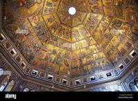 The Medieval mosaics of the ceiling of The Baptistry of