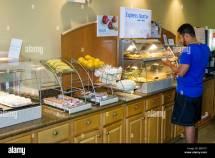 Holiday Inn Express Breakfast Buffet