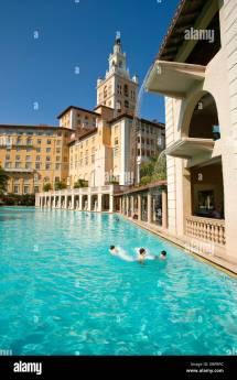 Swimming Pool Historic Biltmore Hotel Coral Gables Miami