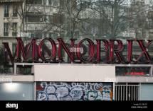 Monoprix Paris Stock &