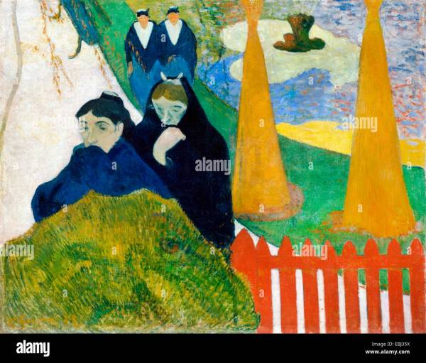 Gauguin Painting Stock &