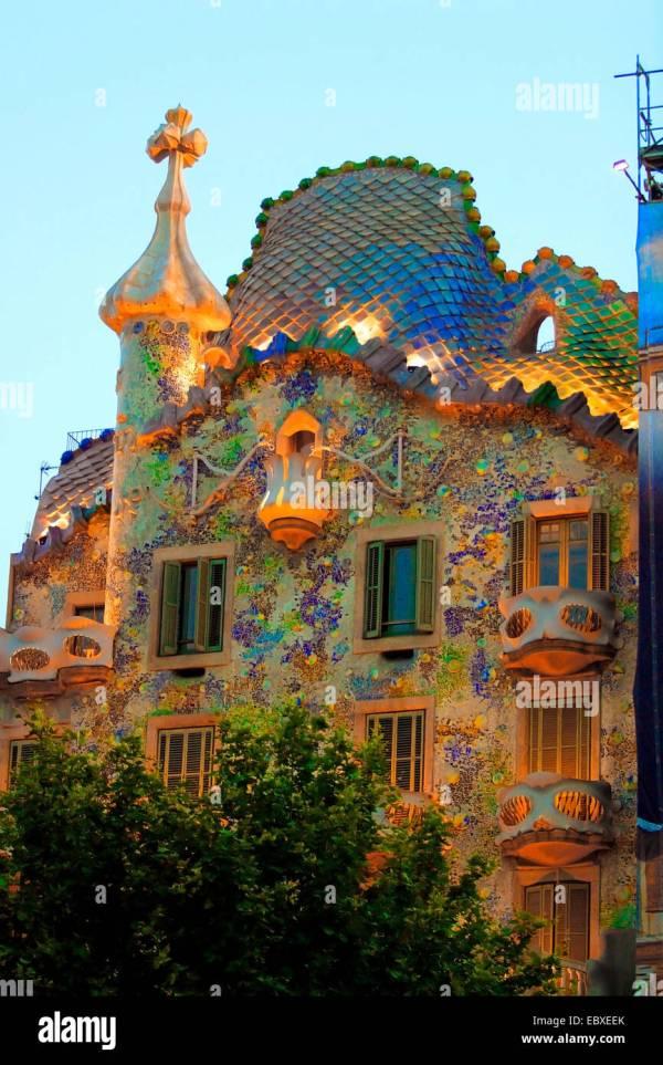 Casa Gaudi Barcelona Spain