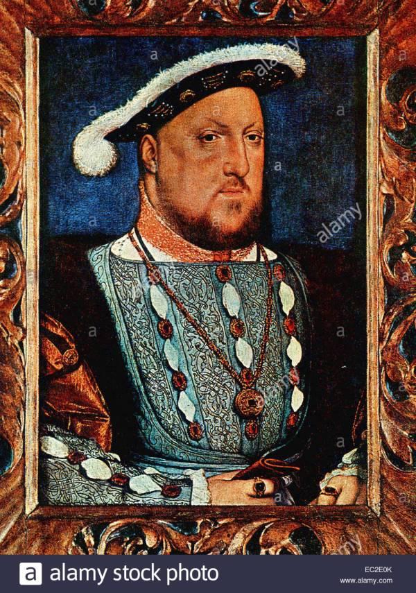 Tudor Painting Stock &