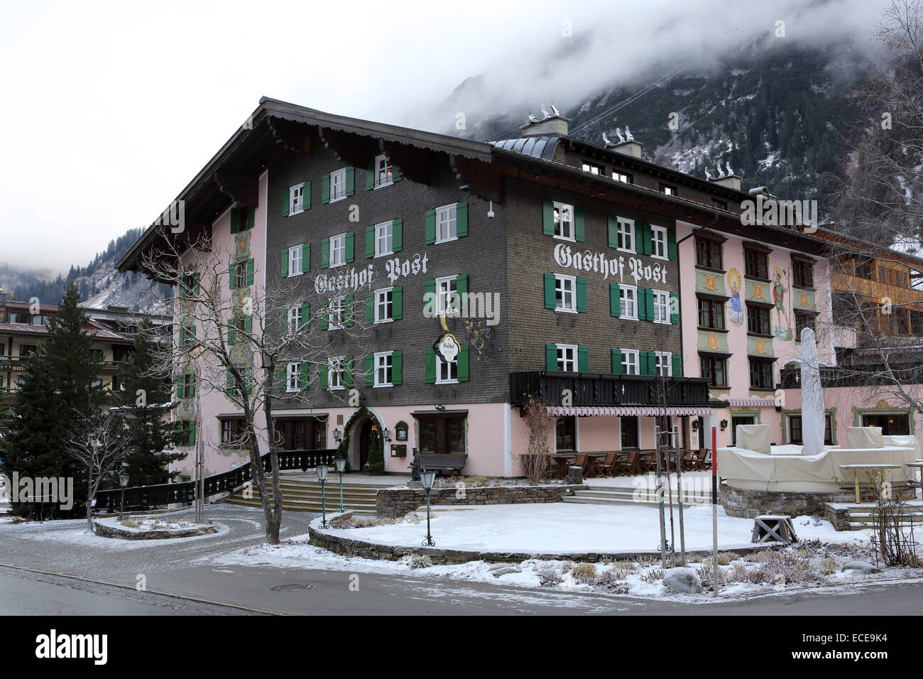 The Gasthof Post In Lech Austria The Hotel Is Regularly