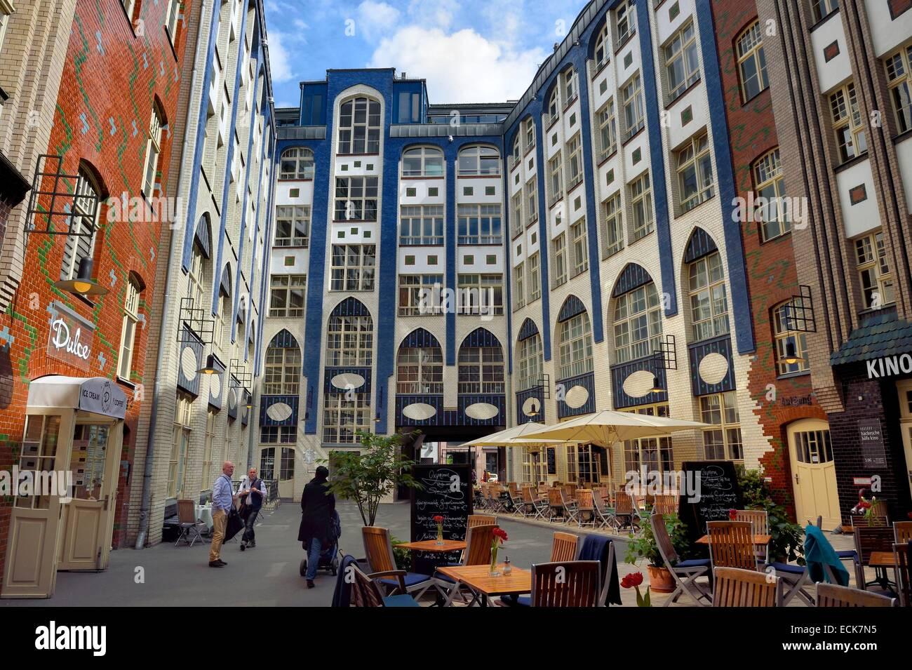 Germany Berlin Spandauer Vorstadt Hackesche Hofe first
