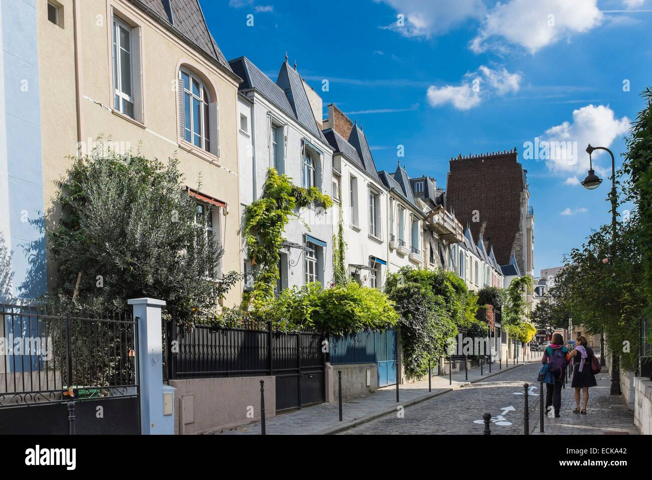 France Paris Maison Blanche Districtulafoy Street
