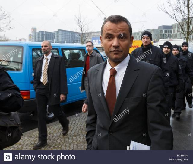 Sebastian Edathy With Strong Escort During His Walk From The Bpk Up To The Bundestag On December   In Berlin Germany Picture Sebastian Edathy With