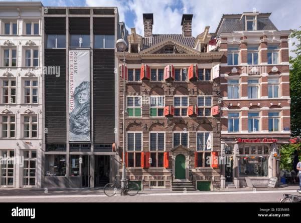 Amsterdam Rembrandt House Museum Het Rembrandthuis