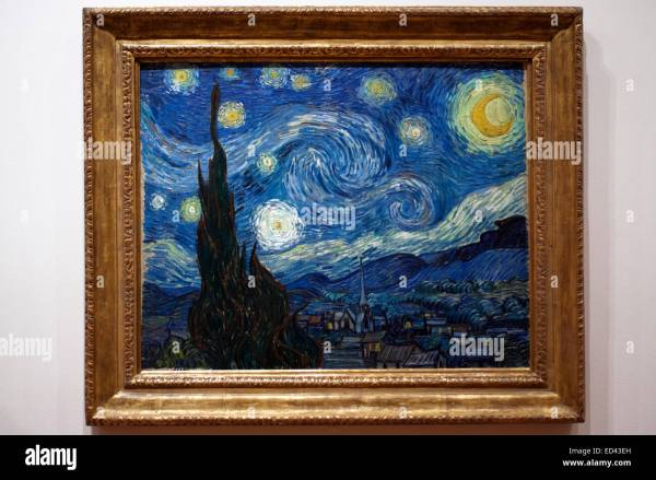 """starry Night"" Van Gogh Museum Of Modern Art"