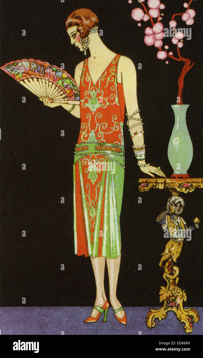 GEORGE BARBIER 1882 1932 Art Deco Fashion Illustration