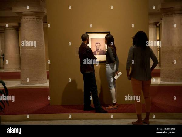 National Portrait Gallery Michelle Obama Art