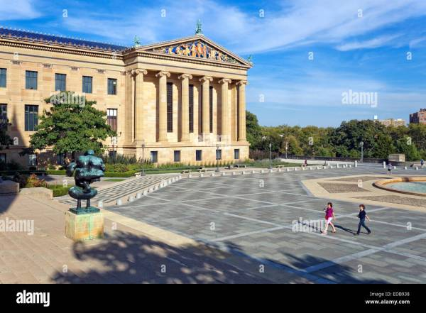 Philadelphia Pennsylvania Rocky Museum Stock