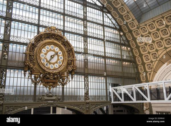 Museum Musee 'orsay Housed In Beaux Arts Railway Stock