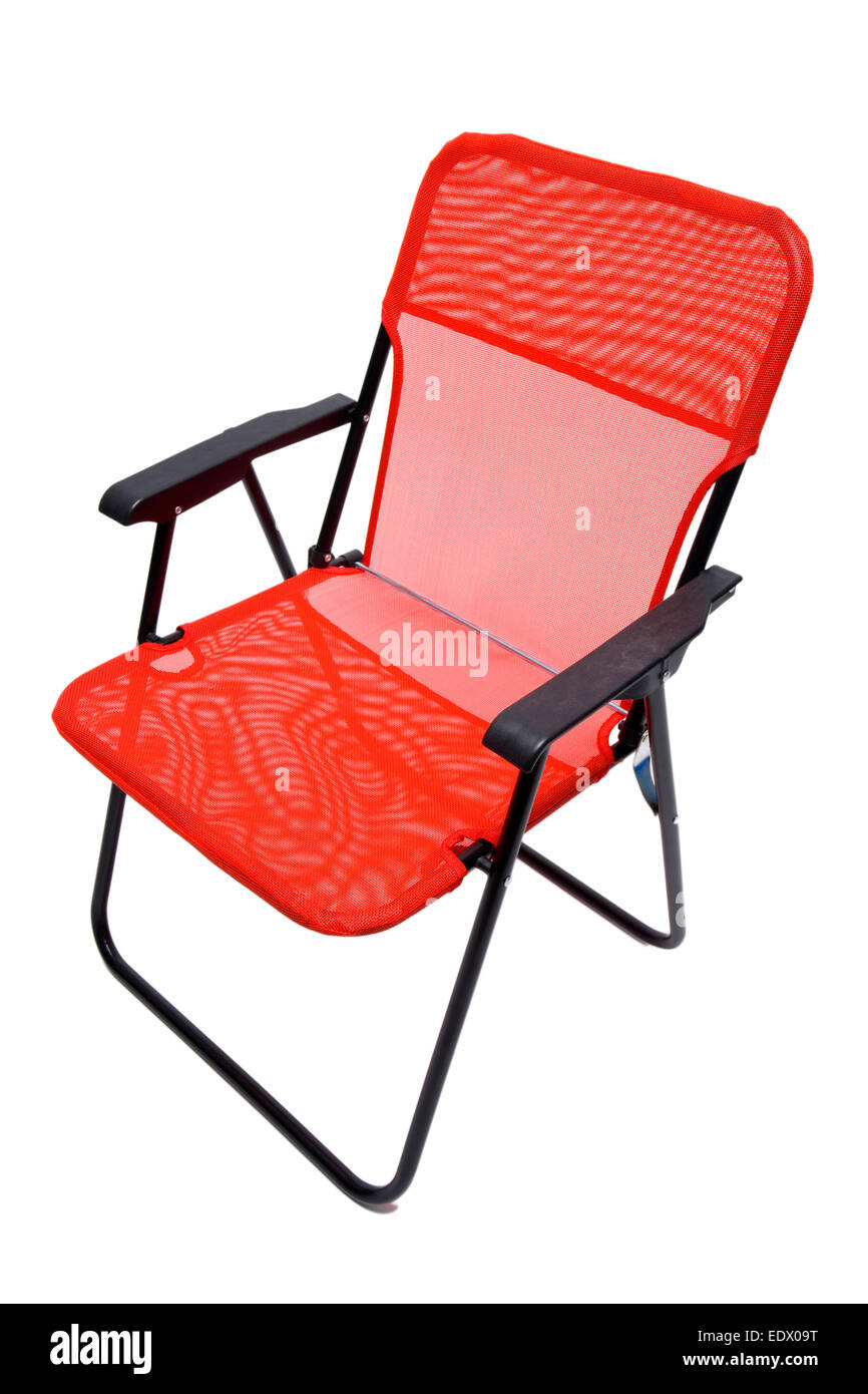 Red Patio Chairs Red Patio Chair Stock Photo 77403028 Alamy