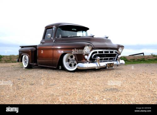 small resolution of modified 1957 chevy 3100 step side pickup truck
