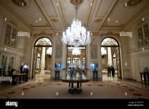 Lobby Of Plaza Hotel York Usa