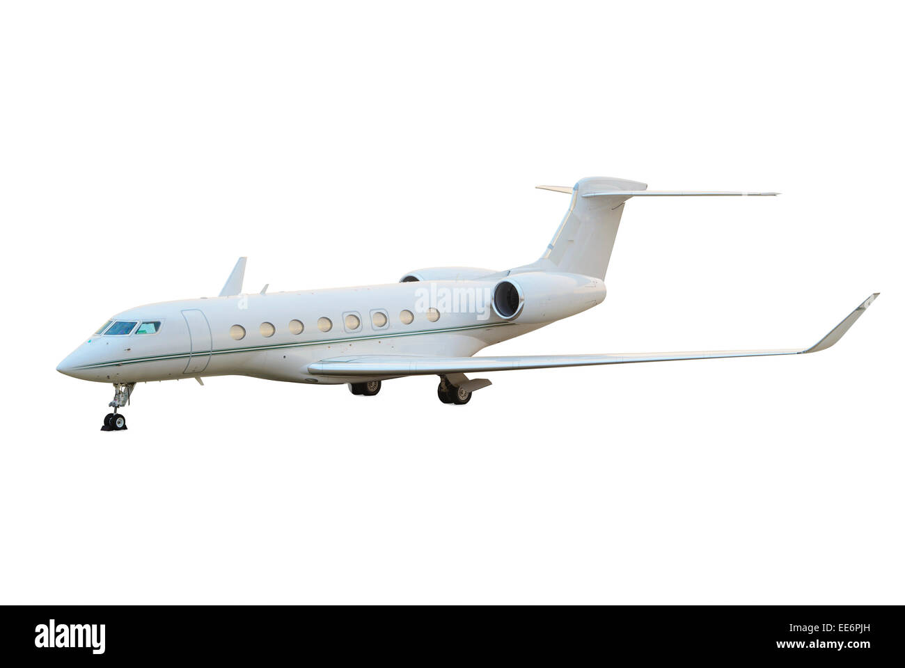 corporate jet cut out