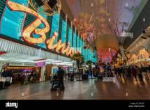 Fremont Street Binion's Hotel Las Vegas