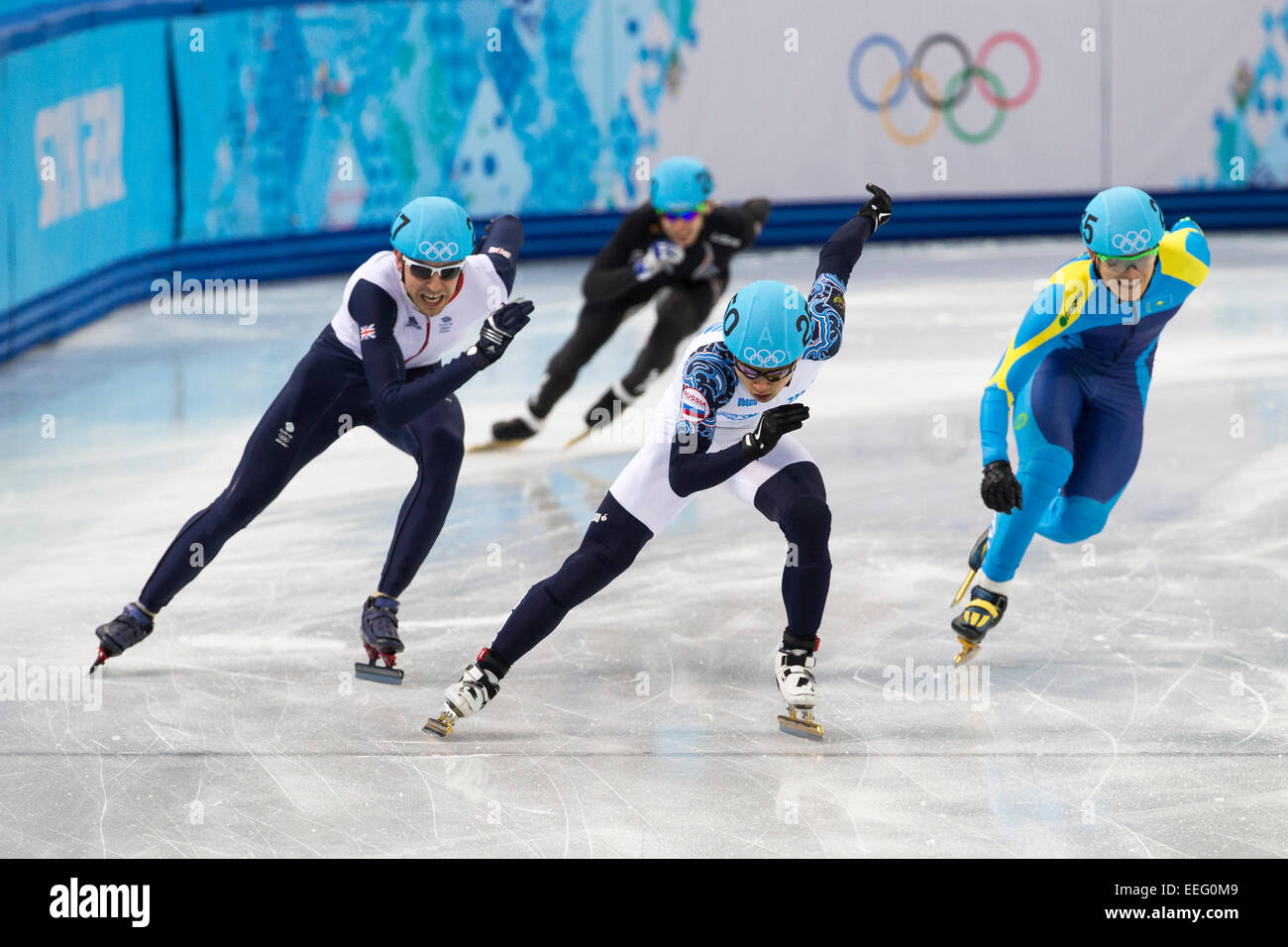 Short Track Speed Skating At The Olympic Winter Games