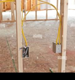 new home house wiring wiring diagram mega electrical wiring in new home construction stock photo 78055094 [ 1300 x 956 Pixel ]