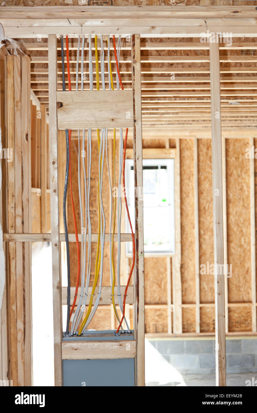 medium resolution of electrical wiring from a breaker box in a new home under wiring a home breaker box