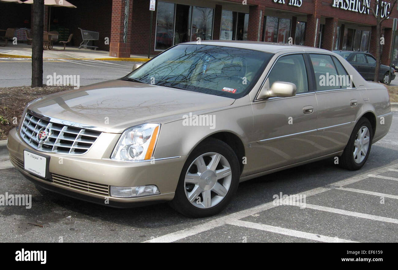 hight resolution of 06 07 cadillac dts stock image