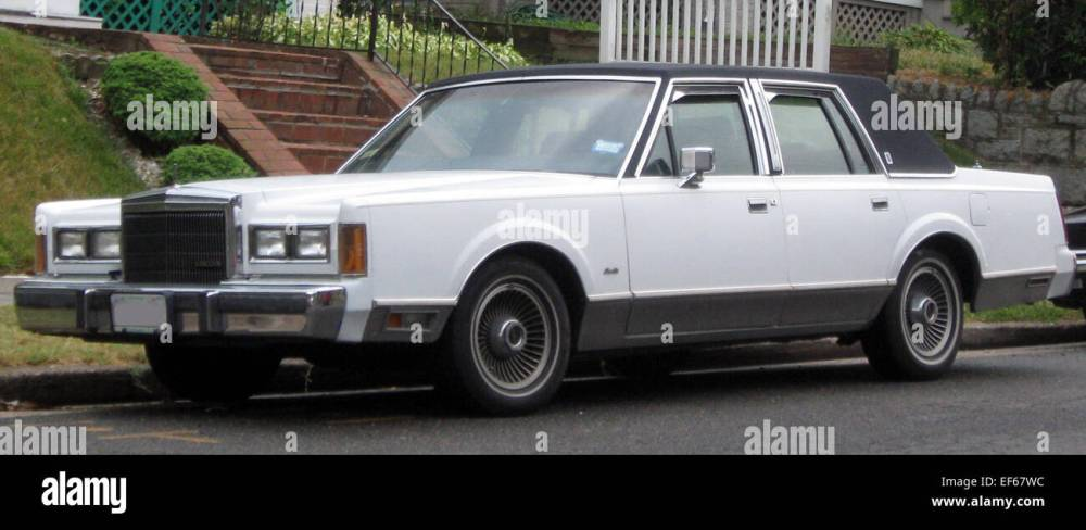 medium resolution of 1989 lincoln town car 06 16 2011 stock image