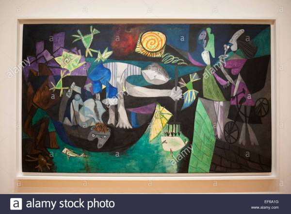 Pablo Picasso Paintings at Art Museum
