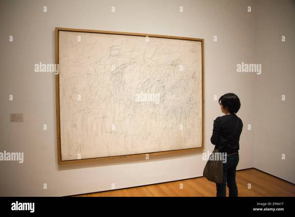 Cy Twombly Museum of Modern Art Painting