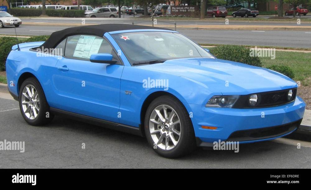 medium resolution of 2010 ford mustang gt convertible 1 09 07 2009