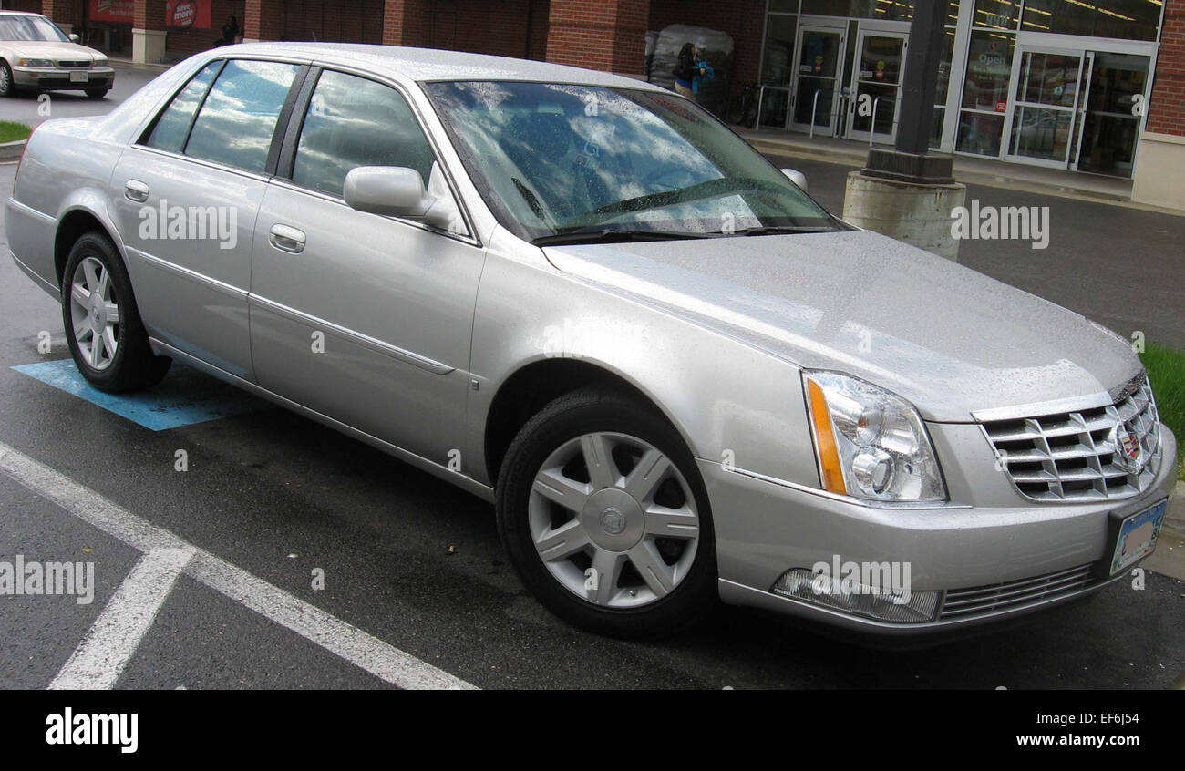hight resolution of cadillac dts stock image