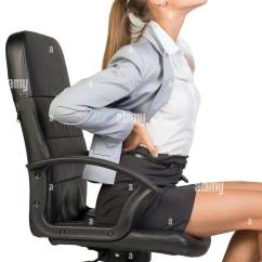 Office Chair Back Pain A For My Mother Businesswoman With Lower From Sitting On