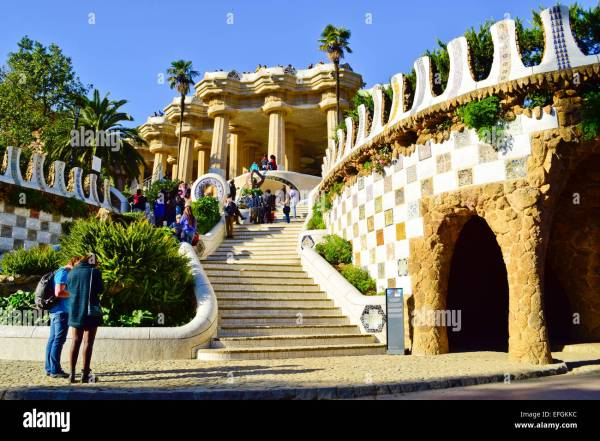 Park Guell Barcelona Gaudi Architecture