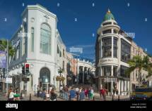 Beverly Hills Rodeo Drive Los Angeles