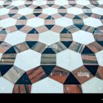 Beautiful Ornamental Decorative Marble Floor Background In Asian Stock Photo Alamy