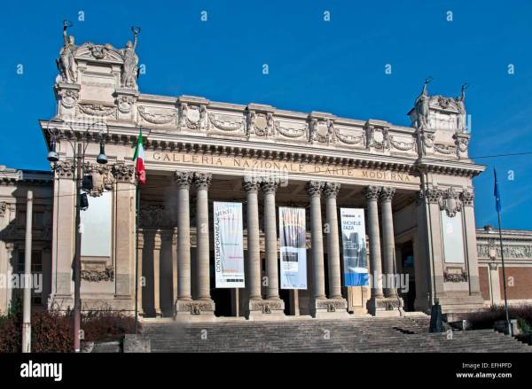 National Of Modern Art In Rome. Galleria