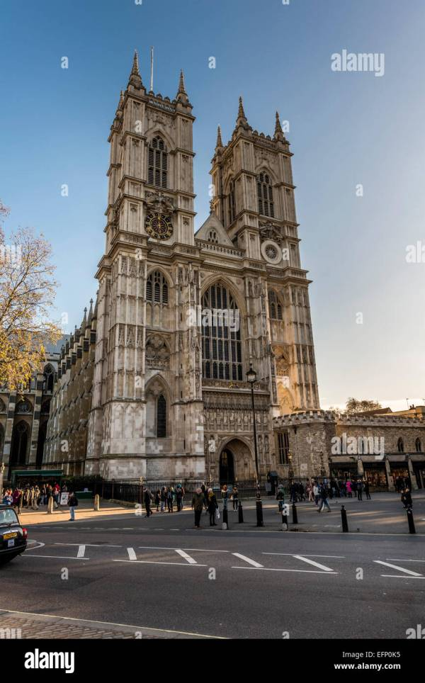 Westminster Abbey Exterior Stock & - Alamy