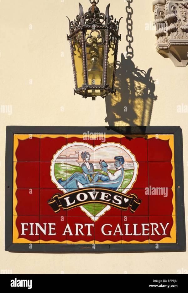 St. Augustine Florida Art Stock & - Alamy