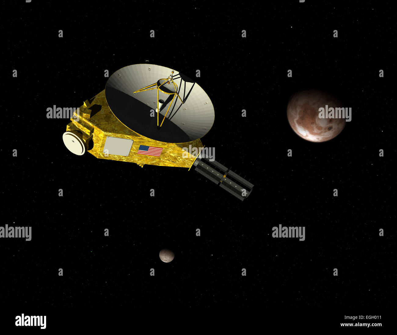 Nasa S New Horizons Unmanned Spacecraft Approaches Dwarf