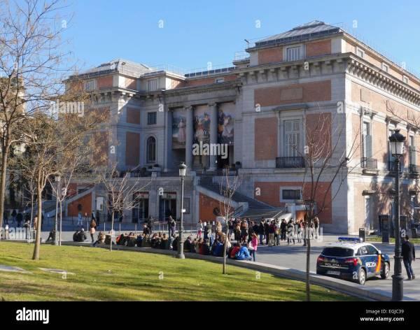 Goya Gate In North Facade Of Prado Museum