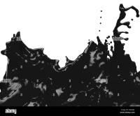 Splatter Black and White Stock Photos & Images - Alamy