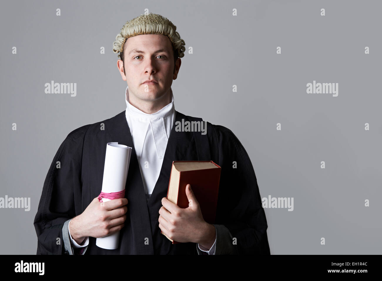 barrister wig stock photos